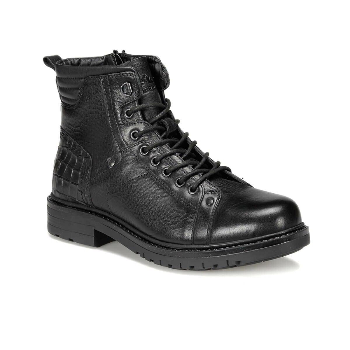 FLO MALERO 9PR Black Men Boots LUMBERJACK