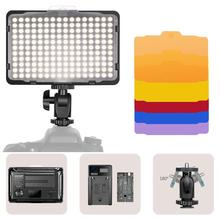 Neewer LED Video Light 176 LED Ultra Bright Dimmable CRI 95+, 5600K with 1/4