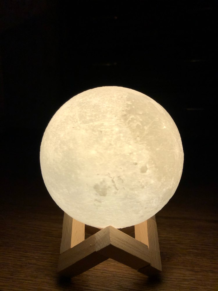 Ultimate Multicolours Moon Lamp 18CM photo review