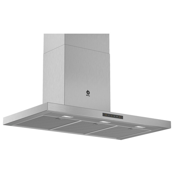 Conventional Hood Balay 3BC997GX 90 Cm 721 M³/h 140W A+ Stainless Steel