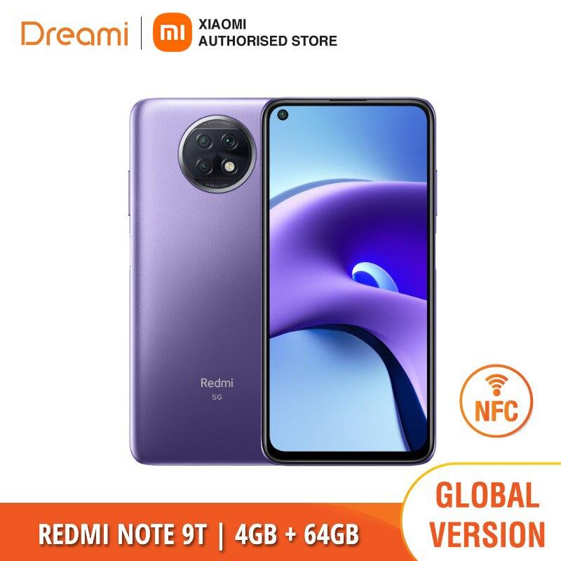 Глобальная версия Xiaomi Redmi Note 9T 64 Гб ROM 4 Гб оперативной памяти NFC | Абсолютно новый | Герметичный | Бесплатная доставка