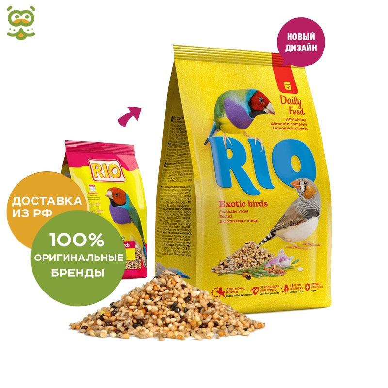 RIO Feed Exotic Birds, Злаковое Assorted, 500g.