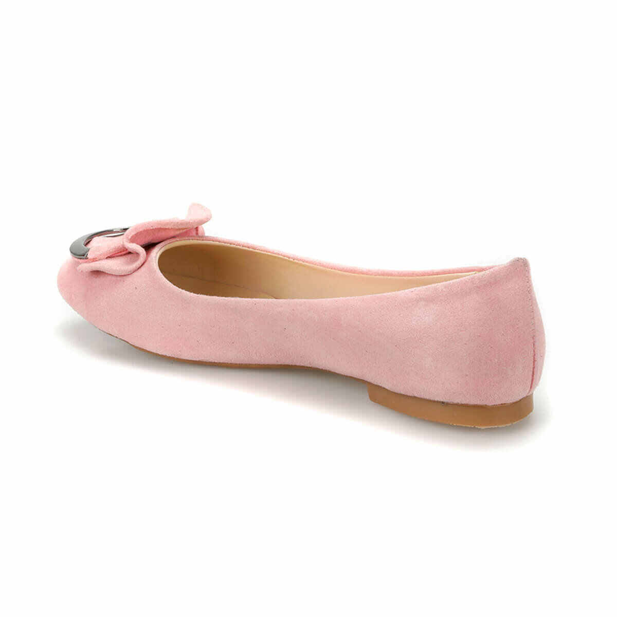 Flo Cho Nữ Giày Đế Bằng Nữ Độn Mộc Mạch Trà Nữ Cho Nữ Giày Ballerina Butigo DS19014