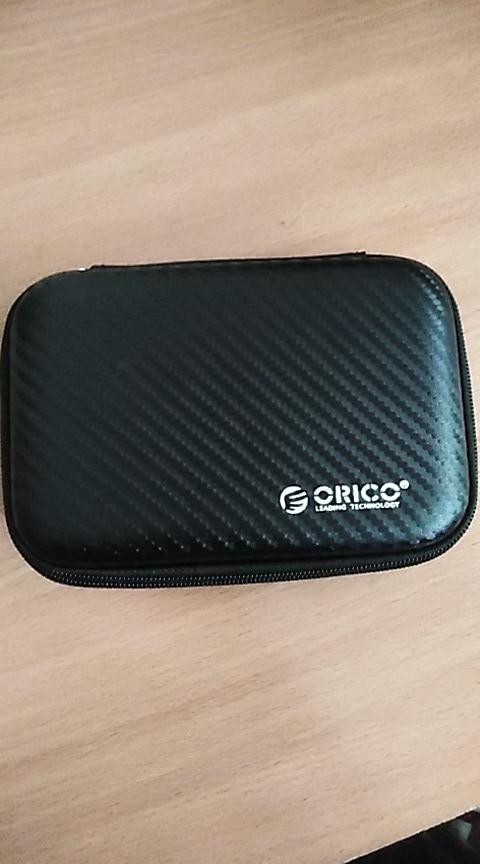 ORICO 2.5 Hard Disk Case Portable HDD Protection Bag for External 2.5 inch Hard Drive Earphone U Disk Hard Disk Drive Case Black reviews №2 43370
