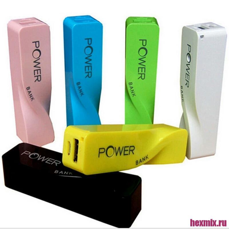 External Battery Power Bank 2200mAh