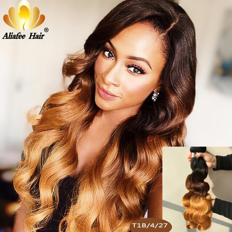 Aliafee Hair Brazilian Body Wave Bundles Hair 8\