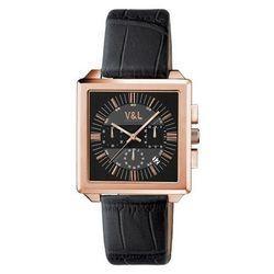 Zegarek męski V & L VL044703 (40mm)|Zegarki mechaniczne|   -