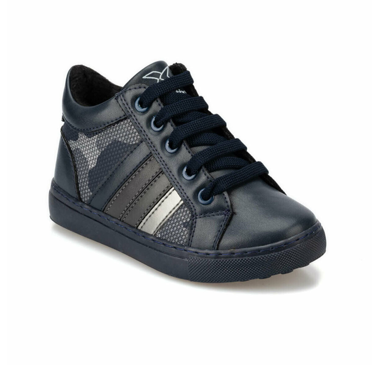 FLO SYNDRA 9PR Navy Blue Male Child Sneaker Shoes KINETIX