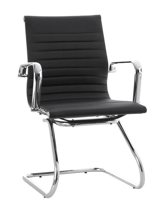 Office Armchair ALABAMA Fixed Similpiel Black