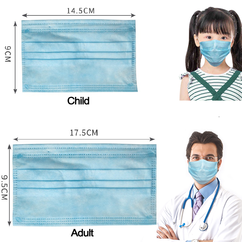 Image 2 - Детская маска Быстрая доставка Одноразовая Маска Защитная маска защитные маски пылезащитные маски детская маска Бесплатная доставкаМаски    АлиЭкспресс