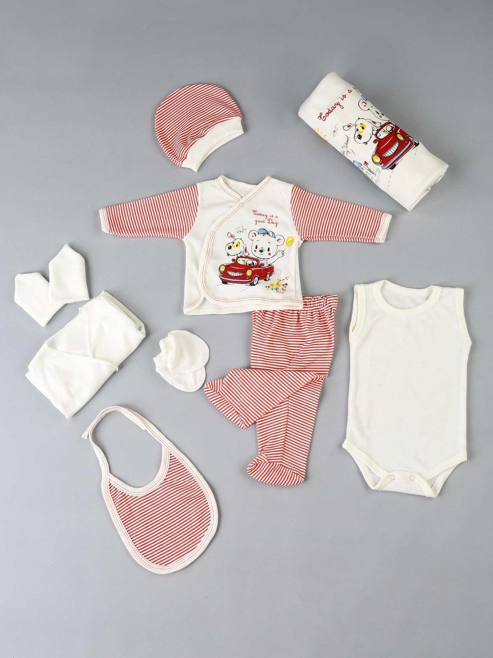 082-9012-002 Kırmızı Yenidoğan Erkek Bebek 10 lu Hastane Çıkışı (1)