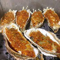 蒜蓉生蚝金针菇,六月鲜减盐不减鲜的做法图解7