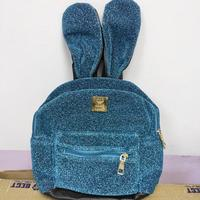 Backpack cute new Mickey Mouse Minnie ears bow backpack small toy baby girl shiny gift surprise doll glitter
