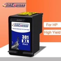 Cartucho de tinta remanufacturado InkExpress Compatible con HP 301XL cartucho de tinta Office ejet 2620 4630 Envy 4500 Deskjet 2540 1000