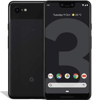 Перейти на Алиэкспресс и купить Телефон Google Pixel 3 XL, черный (черный) цвет, внутренняя память 128 ГБ, ОЗУ 4 Гб, экран 6,3 дюйма (16 см). Группа