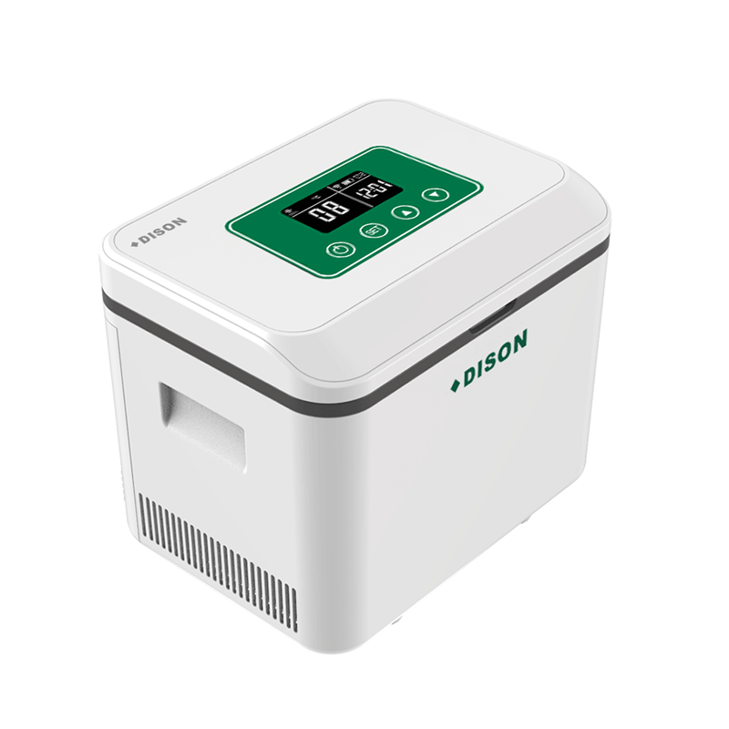 DISON Fridge Cooler Case With Shoulder Battery 1.5L Thermostatic Refrigerator Fridge