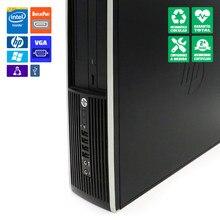 PC sobremesa HP 8200 SFF reacondicionado i5-2400 HDD 250GB DVD Windows 10 Pro update
