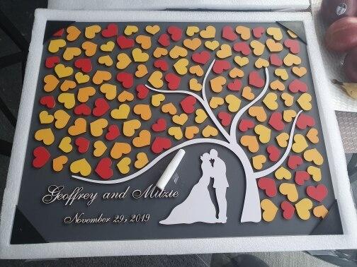 -- Visitas Árvore Corações