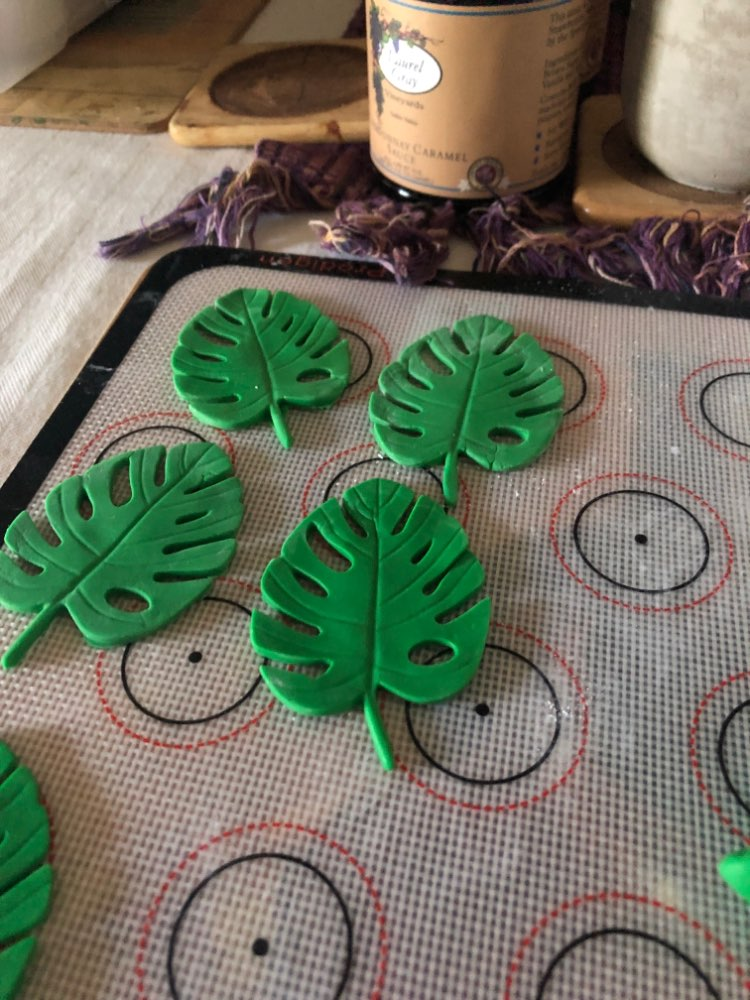 3D Tree Leaf Silicone Mold photo review