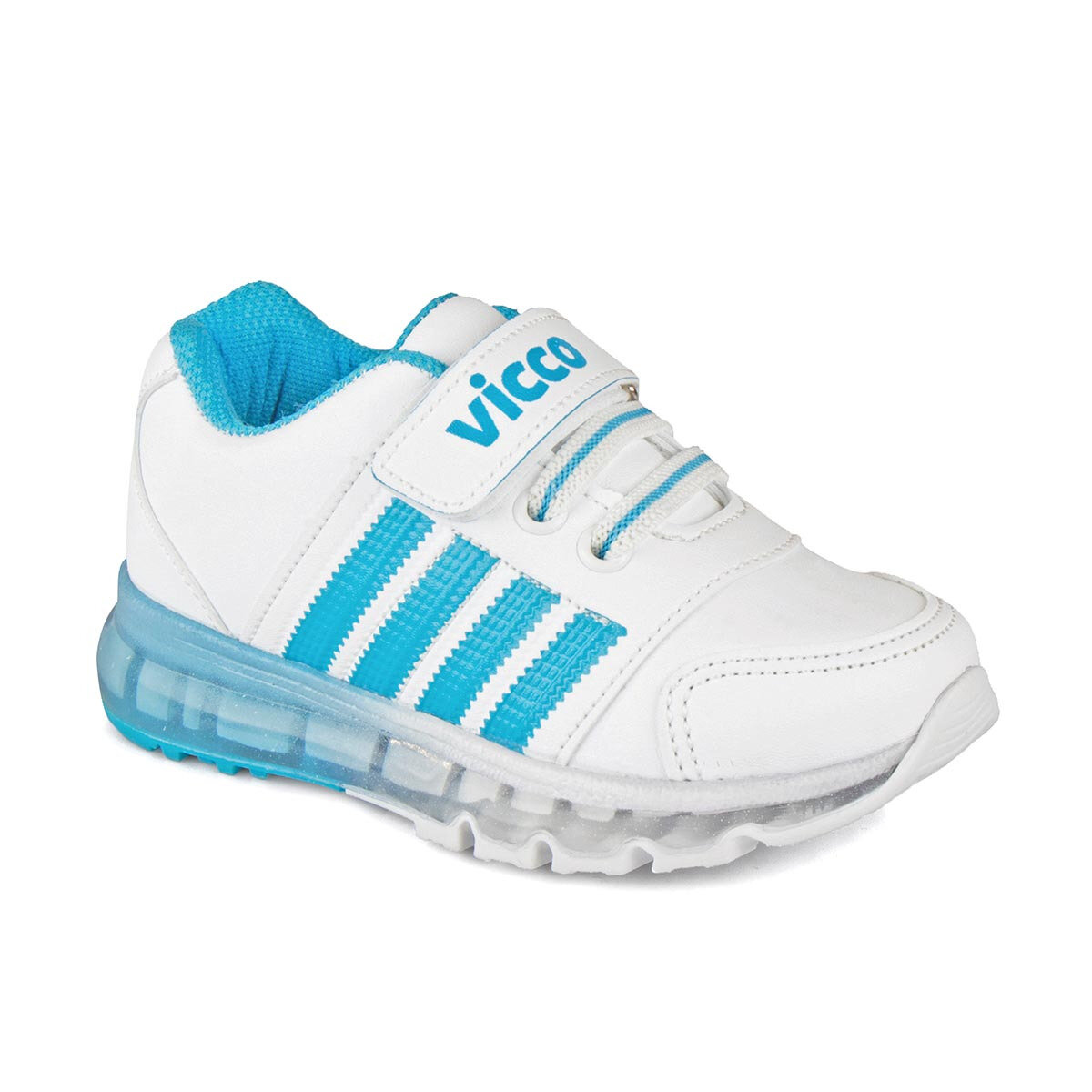 FLO 313. B19K. 138 White Male Child Sneaker Shoes VICCO