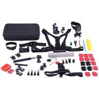 NK Kit d'accesorios 53 en 1 para cámaras Deportivas Sjcam SJ8, série 7 6 5 4, Gopro Hero 6 5 4 3, Cámaras YI
