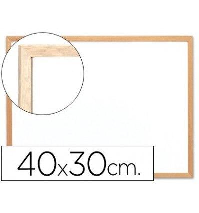 SLATE WHITE Q-CONNECT MELAMINE MARCO WOOD 'S 40X30 CM
