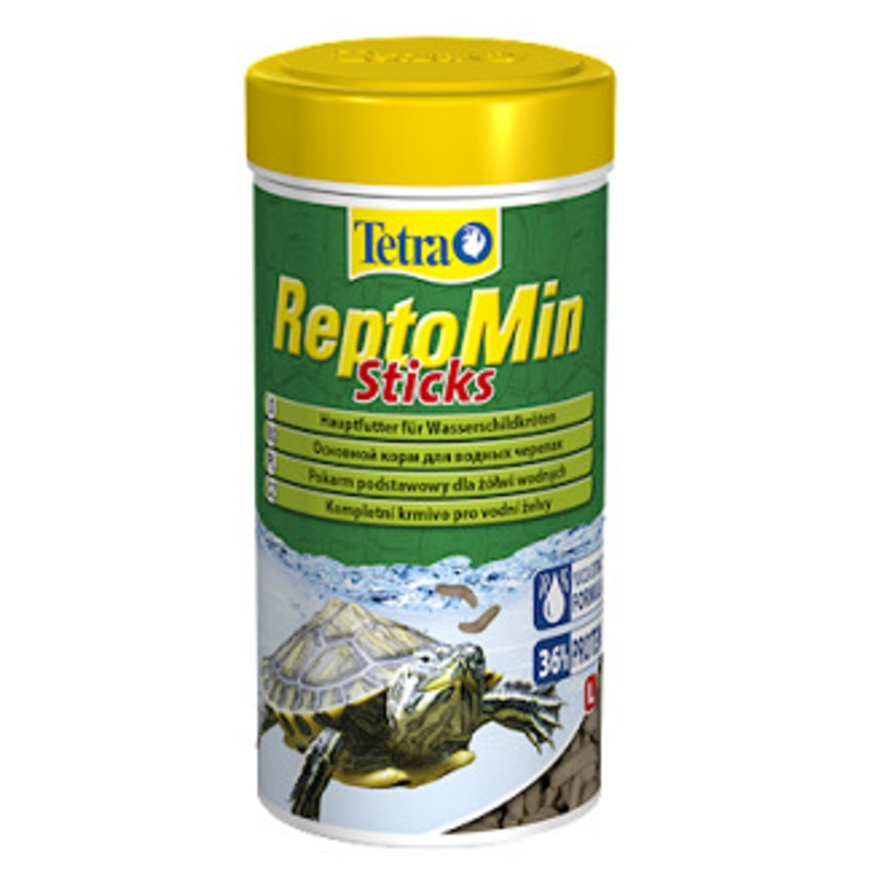 Tetra Reptomin Food In The Form Of Sticks For Aquatic Turtles, 100 Ml.