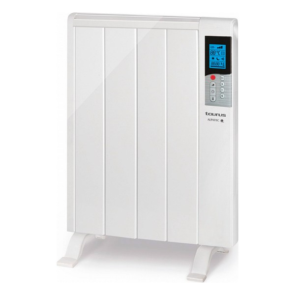 Digital Dry Thermal Electric Radiator (4 Chamber) Taurus Tanger 900W White