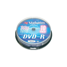 DVD-R Verbatim 43523 16x10 шт