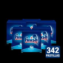 Finish классические таблетки для посудомоечной машины-упаковка 6x Finish Classic 57 таблеток-посудомоечная машина
