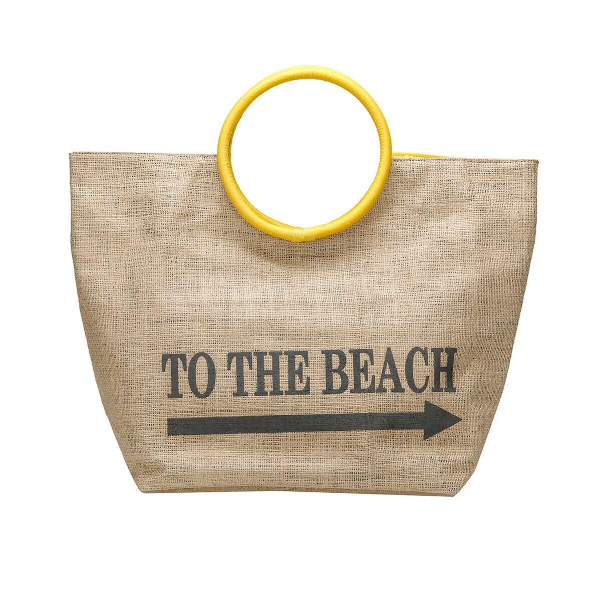 FLO WERT1506 Sand Color Women Beach Bag BUTIGO