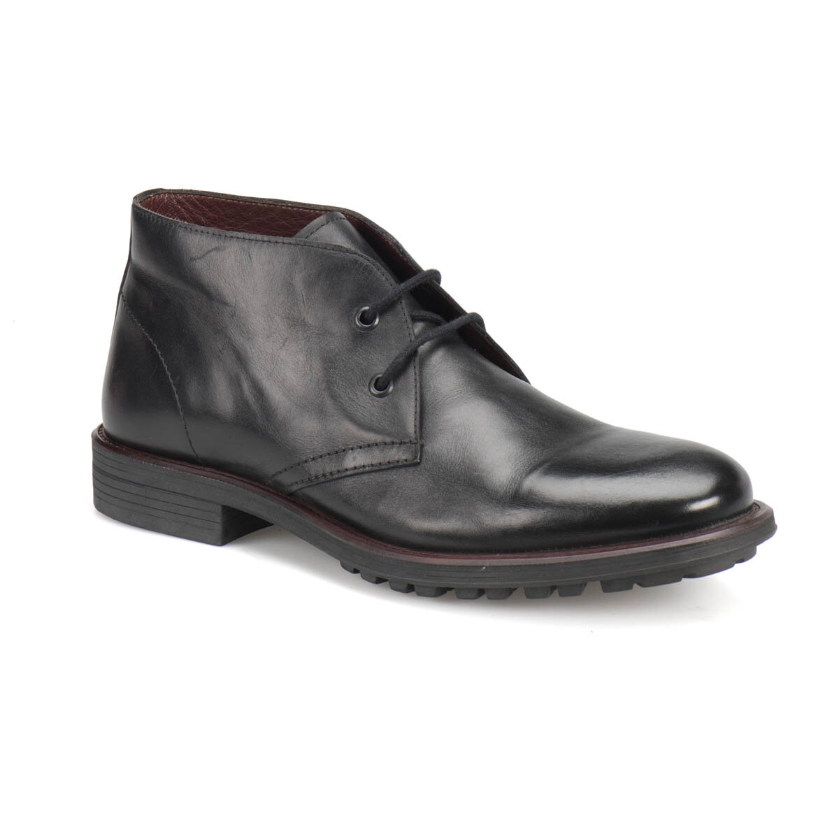 FLO 49364-2 Black Men Boots Garamond