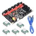 BIGTREETECH SKR V1.3 плата управления smootieboard 32-разрядная подходит для TMC2208 UART TMC2209 обновленная материнская плата ARM для TFT35 панель MKS L