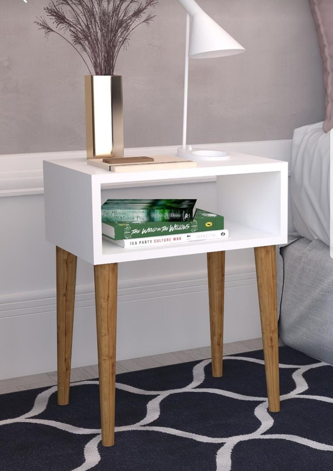 Home Side Table Furniture Square Coffee Table Living Room Small Bedside Table Design End Table Sofaside Minimalist Small Desk