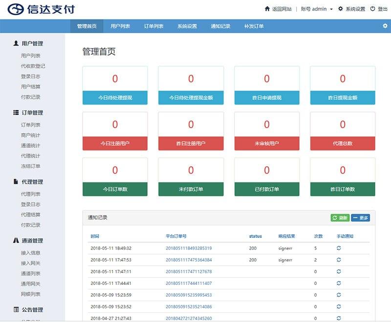 全新PHP第三第四方支付源码修复版 H5扫码支付微信收款钱包 快捷支付 API聚合支付-52资源网