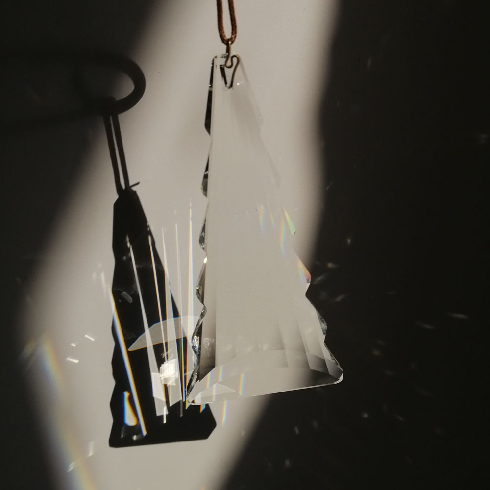 120MM FengShui Chandelier Prism Suncatcher Oval Cut Glass Crystal Hanging Drop