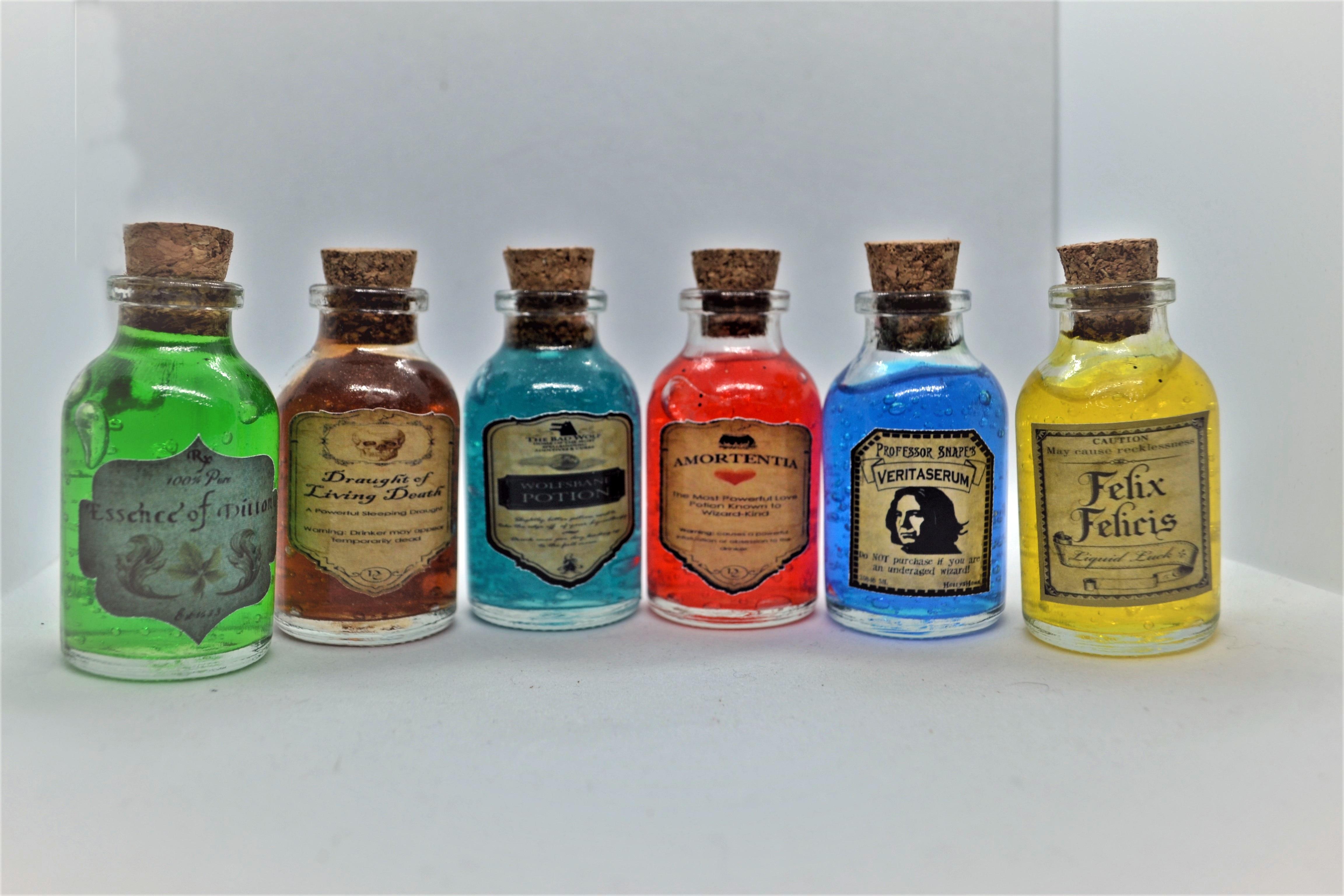 Набор специй 6 sixes-Film Kahramanı Magic Magician ksirler коллекционный полный веер ручной работы