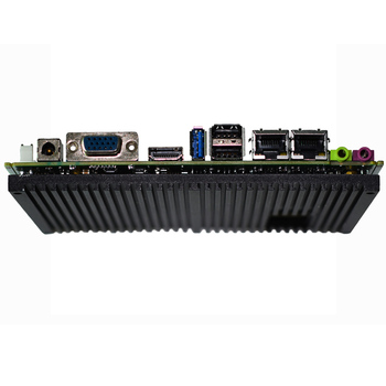цена на Fanless mainboard with 4G ram SATA Hard Drive Interface and Stock Products Status J1900 mini ITX motherboard