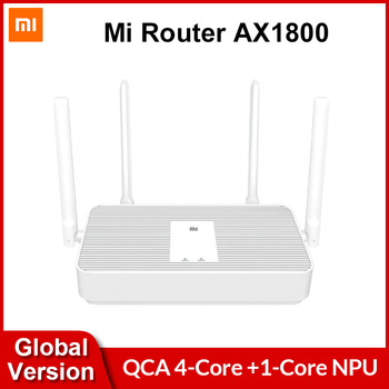 Original Global Version Xiaomi Mi Router AX1800 WiFi 6 1800 Mbps 5-Core 256MB AX5 4 Antennas 2.4G/5G Dual Frequency Mesh Network Electronics WIFI Routers