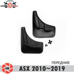 Błotniki samochodu dla Mitsubishi Asx 2010 ~ 2019 błotniki splash guards błotnik błotnik przednie błotniki błotnik akcesoria samochodowe