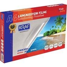Kraf Lamination Film Glossy A4 100Mic 100L Laminated paper 216x 303 mm