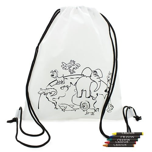 Backpacks With Waxes Selva For Coloring-Details And Gifts For Weddings, Christening Suits, Communions, Birthday And Holiday.