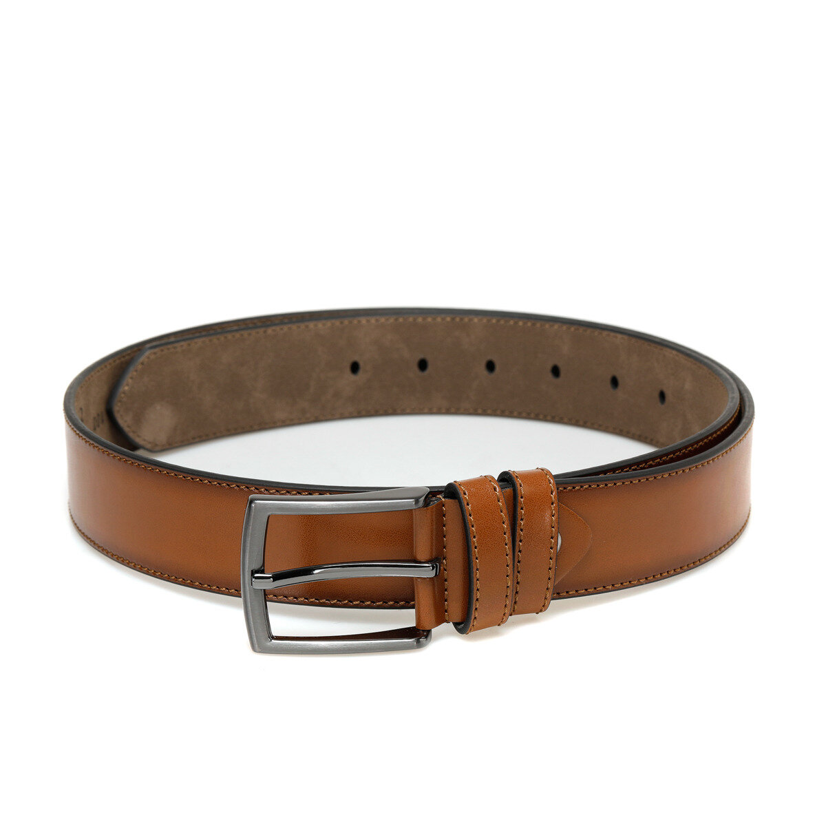 FLO 20M BR GENIS Tan Male Belt Oxide