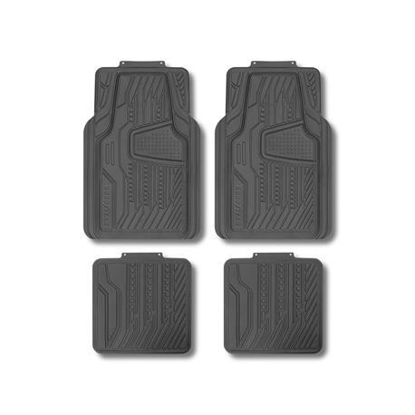 Gris tapices Jaguar XF calidad máxima alfombrillas velours alfombra//soporte de metal