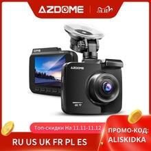 AZDOME GS63H Car Dash Cam 4K 2160P Dash Camera Dual Lens Built in GPS DVR Recorder Dashcam With WiFi G Sensor Loop Recording