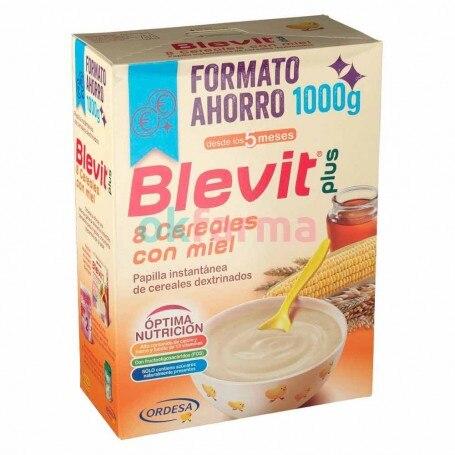 Blevit Plus 8 Cereals Honey 1000 GR