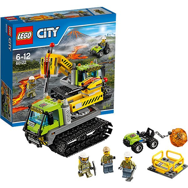 LEGO City 60122: Atv Explorers Of Volcanoes