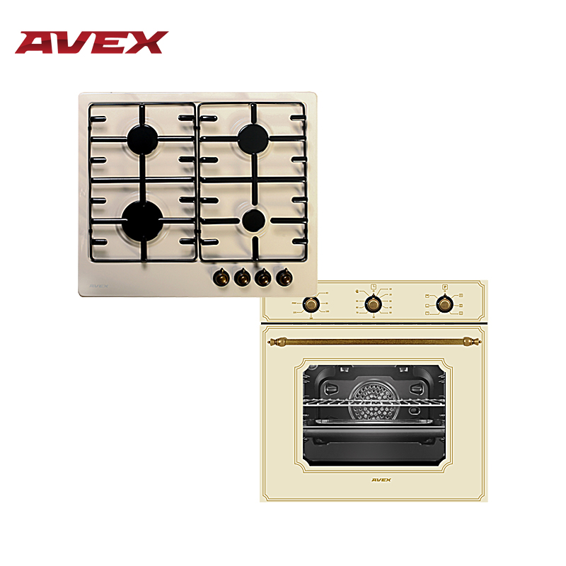 Set the cooktop AVEX HS 6040 YR and  electric oven AVEX HS 6061 YR цена и фото