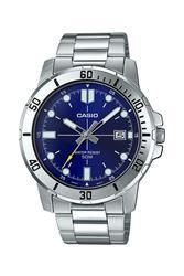ساعة كاسيو للرجال ماركة فاخرة 50 م. مقاوم للماء كرونوغراف موضة الرياضة العسكرية ساعة MTP-VD01D-2EVUDF