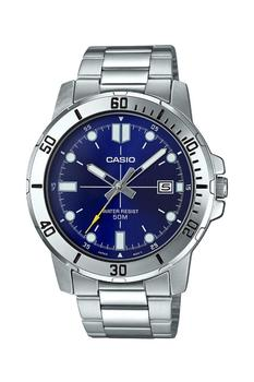 Casio Watch Men Brand Luxury 50 M.  Waterproof Chronograph Fashion Sport military MTP-VD01D